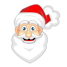Free Cute Face Of Happy Looking Santa Claus Stock Photos - 16687153