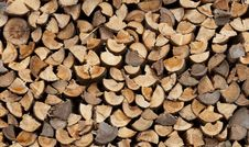 Free Stack Of Firewood Royalty Free Stock Images - 16687869