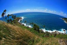 Island With Clear Blue Sky Phuket Stock Photos