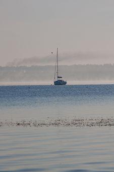 Free Sunrise And Boat Stock Photography - 16688262
