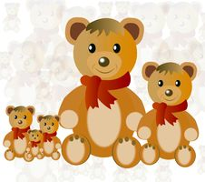 Free Toy Nursery Teddy Bear Royalty Free Stock Photography - 16689697