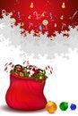 Free Santa Bag Full Of Gifts Stock Photo - 16690700