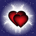 Free Two Hearts Stock Photography - 16691892