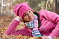 Free Happy Woman In Fall Royalty Free Stock Image - 16692356