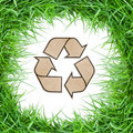 Free GRASS RECYCLE SYMBOL Stock Image - 16694451