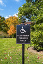 Free Handicapped Parking Sign Stock Photos - 16695313