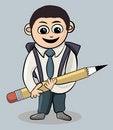 Free School Boy Royalty Free Stock Photo - 16697455