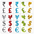 Free Currency Symbols Royalty Free Stock Photos - 16698358