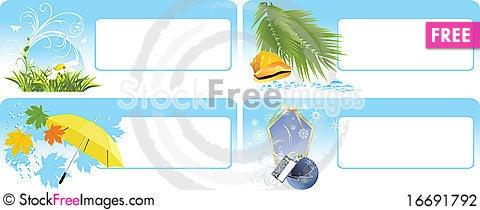 Free Seasonal Cards Stock Photography - 16691792