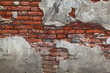 Free Fragment Red Brick Wall Royalty Free Stock Photography - 16690147