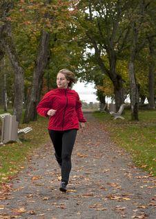 Free Athletic Woman. Royalty Free Stock Photos - 16690278
