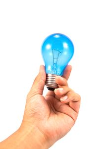 Free Lightbulb In Hand Stock Photos - 16690583