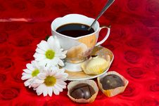 A Cup Of Coffee For Your Favorite Stock Photography