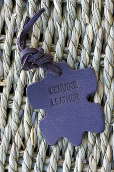 Free Leather Tag Royalty Free Stock Images - 16692379