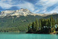 Free Emerald_lake_cabins Stock Images - 16693894
