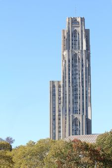 Free Cathedral Of Learning Royalty Free Stock Photography - 16693997