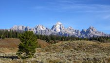 Free Grand Tetons Stock Images - 16695074