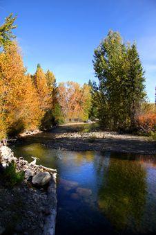 Free Autumn Landscape Royalty Free Stock Photography - 16695127
