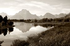 Grand Tetons Royalty Free Stock Images