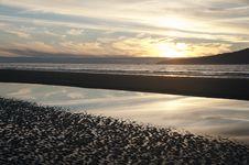 Free Winter Sunset Stock Photo - 16695150