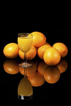 Free Orange Juice Royalty Free Stock Photos - 16695658