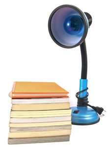 Free Lamp Amd Book Stock Photo - 16696020