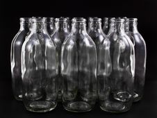 Free Empty Bottles Stock Image - 16696101