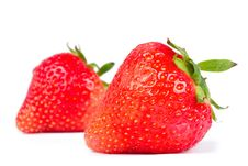 Free Strawberry Isolated On White Royalty Free Stock Photography - 16696327