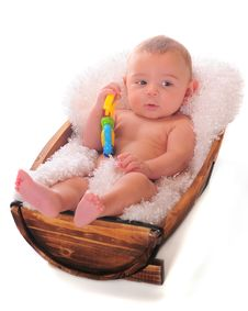 Free Baby Boy Relaxing Stock Photos - 16696363