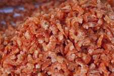 Free Dried Shrimps Royalty Free Stock Photography - 16696567