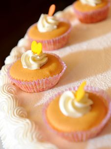 Free Cup-cake Royalty Free Stock Photography - 16696797