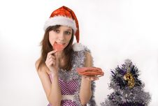 Free Beautiful Girl In Festive Attire Stock Photo - 16696960