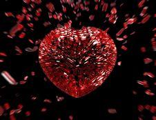 Free Heart Break Royalty Free Stock Photo - 16697075