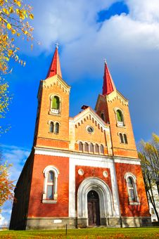 Free The Lutheran Church Large View Stock Photo - 16697490