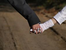 Free Joined Hands Couples Suite Royalty Free Stock Photos - 16697658