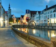 Free Canal In Bruges Stock Photography - 16698042