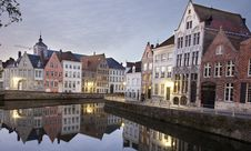 Free Canal In Bruges Stock Photography - 16698122