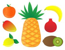 Free Fruits Royalty Free Stock Photography - 16698837