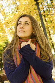 Free Autumn Portrait Stock Image - 16699221