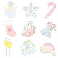 Free Christmas Collection. Stock Photo - 16699530