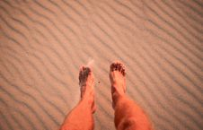 Free Feet On Beach Stock Images - 16699864