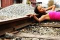 Free Train Tracks Royalty Free Stock Photos - 1676988