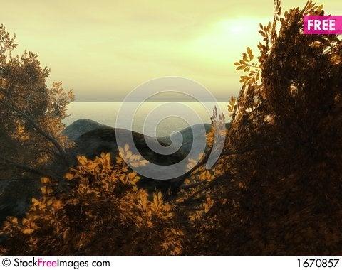 Free Beautiful Sunset Royalty Free Stock Photography - 1670857