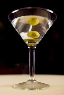 Vodka Martini Stock Photos