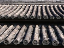 Free Traditional Japanese Roof Stock Photography - 1670492