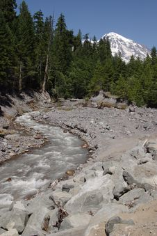 Free Kautz Creek Royalty Free Stock Photos - 1670898