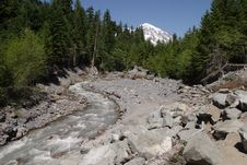 Free Kautz Creek Stock Image - 1670901