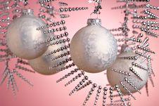 Free Christmas Baubles Stock Photo - 1671600