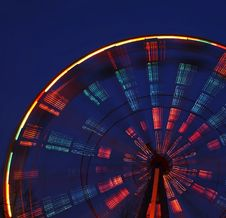 Free Spinning Carousel Royalty Free Stock Photography - 1671637