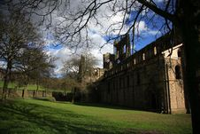 Free Kirkstall Abbey Royalty Free Stock Image - 1672096